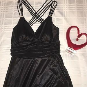 Formal black B Darlin dress size medium